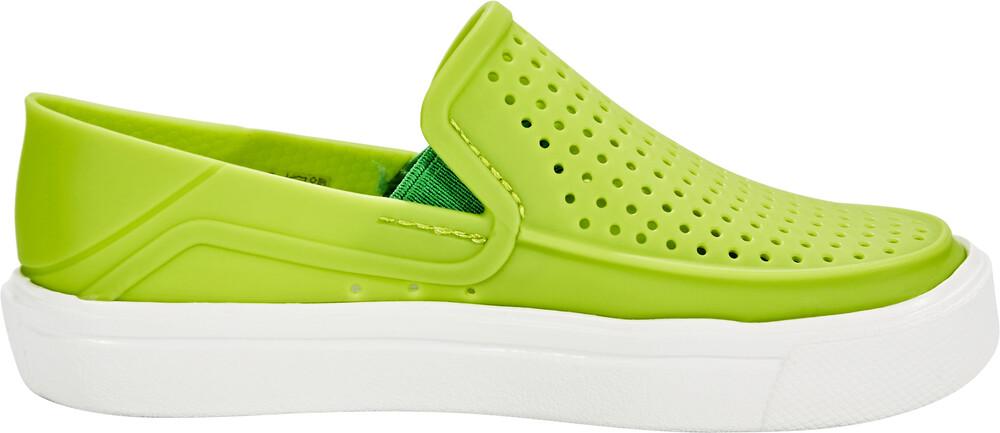 Crocs CitiLane Roka Slippers Kids Volt Green 24-25 2017 Freizeitschuhe YBlZHDbDJV